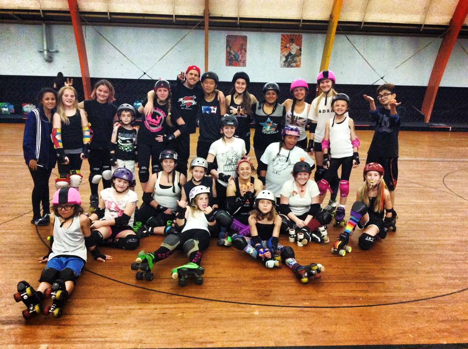 San Diego Roller Derby Juniors